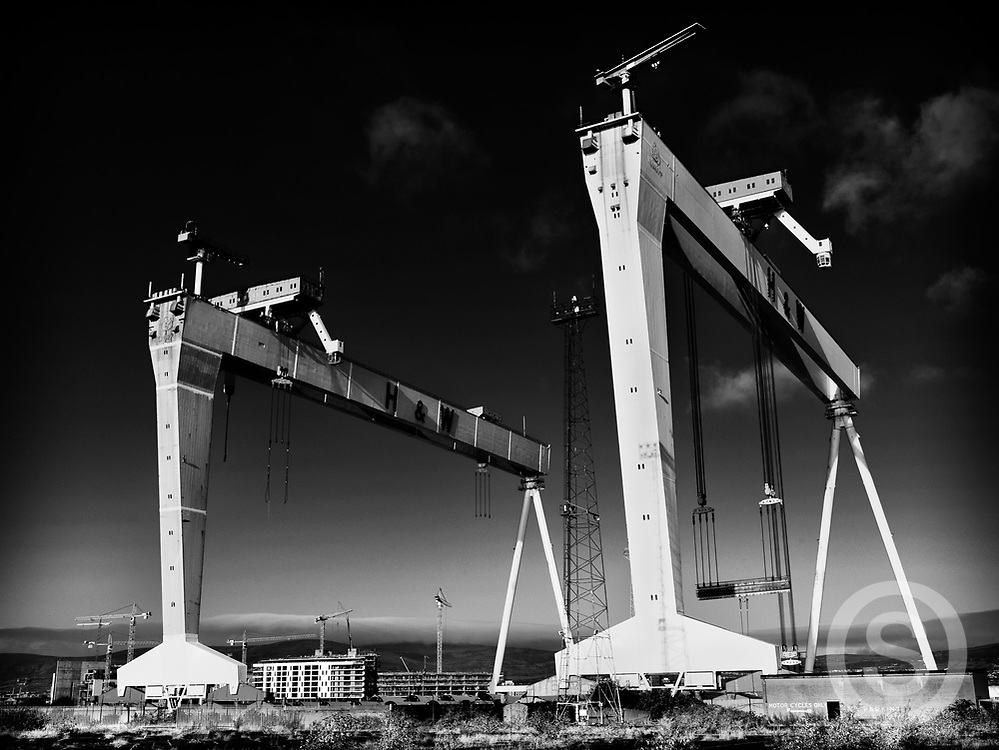 Photographer: Chris Hill, Harland & Wolff, Belfas