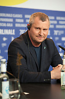 Director Vadim Perelman at the press conference for the film Persian Lessons at the 70th Berlinale International Film Festival, on Saturday 22nd February 2020, Hotel Grand Hyatt, Berlin, Germany. Photo credit: Doreen Kennedy