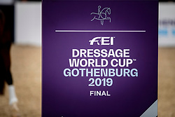 Dressage World Cup Finals <br /> LONGINES FEI World Cup™ Finals Gothenburg 2019<br /> © Dirk Caremans<br /> 05/04/2019