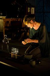 Karine Polwart prepares fro the world premiere of Wind Resistance at the Edinburgh Festival.<br /> <br /> (c) Ger Harley | Edinburgh Elite media