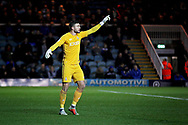 Bradford City goalkeeper Richard O'Donnell (1)  during the EFL Sky Bet League 1 match between Peterborough United and Bradford City at The Abax Stadium, Peterborough, England on 17 November 2018.