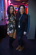 NO FEE PICTURES<br /> 31/12/15 Lexi Nicolaou, England and Sarah Cotterell, Dublin, enjoying the NYF 3Arena Celebrations, part of the New Years Festival in Dublin. nyf.com running from 30th Dec to 1st Jan in Dublin. Picture: Arthur Carron