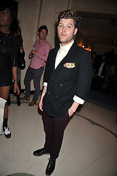 Singer DANIEL MERRIWEATHER at a party hosted by Mulberry during London fashion Week 2009 at Claridge's Hotel, Brook Street, London on 20th September 2009.