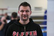 Boxen: Giants Professional Boxing Series, Wiegen, Hamburg, 06.11.2020<br /> Christian Morales<br /> © Torsten Helmke