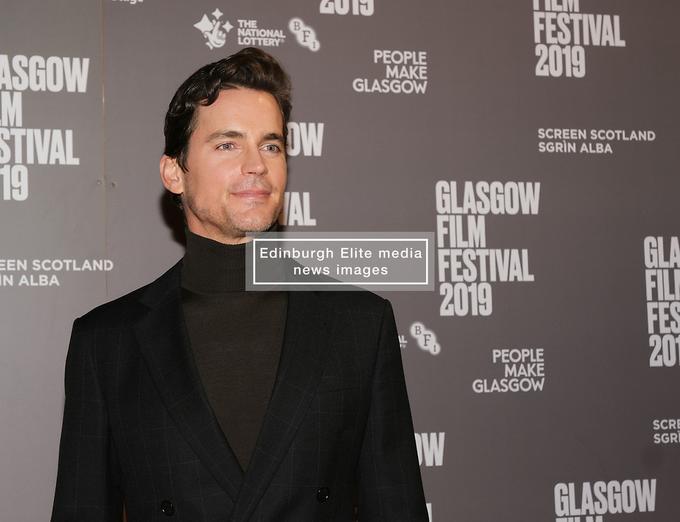 Glasgow Film Festival 2019<br /> <br /> Scottish Premier of Papi Chulo<br /> <br /> Pictured: Matt Bomer<br /> <br /> (c) Aimee Todd | Edinburgh Elite media
