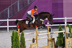 Greve Willem, NED, Zypria S, 370<br /> Olympic Games Tokyo 2021<br /> © Hippo Foto - Dirk Caremans<br /> 01/08/2021