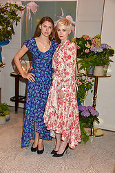 Left to right, Sabrina Percy and Portia Freeman at the Belmond Cadogan Hotel Grand Opening, Sloane Street, London England. 16 May 2019. <br /> <br /> ***For fees please contact us prior to publication***
