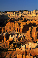 Sunrise light on Hoodoos, from Sunrise Point, Bryce Canyon National Park, UTAH