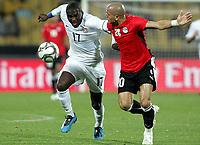 Fotball<br /> 21.06.2009<br /> Confederations Cup<br /> Egypt v USA<br /> Foto: Gepa/Digitalsport<br /> NORWAY ONLY<br /> <br /> Bild zeigt Jozy Altidore (USA) und Wael Gomaa (EGY)