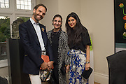 MICHELE CONDONI; FATIMA MALEKI; LEILA MALEKI, , Dinner to celebrate the 10th Anniversary of Contemporary Istanbul Hosted at the Residence of Freda & Izak Uziyel, London. 23 June 2015