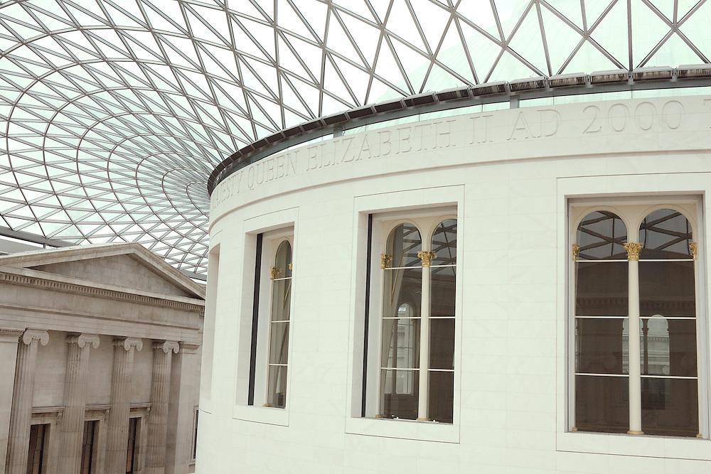 Upper Rotunda View British Museum - London, UK