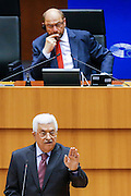 Official visit of the President of the Palestinian National Authority. Address to the Plenary.