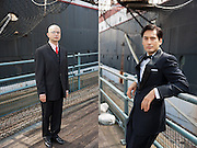 Actors at South Street Seaport