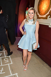 LARISSA EDDIE at a party to celebrate the launch of fashion retailer WeKoko.com held at Sketch, 9 Conduit Street, London on 13th April 2016.
