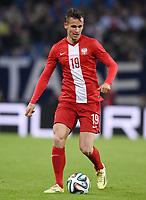 Fotball<br /> Tyskland v Polen<br /> 13.05.2014<br /> Foto: Witters/Digitalsport<br /> NORWAY ONLY<br /> <br /> Pawel Olkowski (Polen)<br /> Fussball, Testspiel, Deutschland - Polen 0:0
