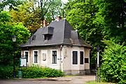 Dom Ogrodnika w Parku Zamkowym, Pszczyna, Polska<br /> House of the Gardener in Zamkowy Park in Pszczyna, Poland