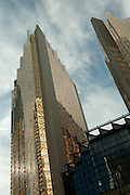The gilt towers of the Royal Bank of Canada in Toronto's financial district.