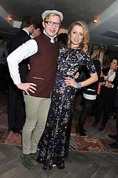 HENRY CONWAY and FEDERICA AMATI at the Beulah AW13 Showcase, Bungalow 8 LFW Pop-Up at Belgraves - A Thompson Hotel, 20 Chesham Place, London SW1 on 13th February 2013.