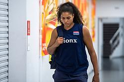 19-10-2018 JPN: Semi Final World Championship Volleyball Women day 18, Yokohama<br /> Serbia - Netherlands / Celeste Plak #4 of Netherlands