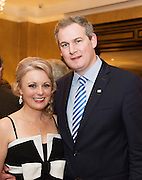 Avril Horan and Sean Kyne TD  at the Gorta Self Help Africa Annual Ball in Hotel Meyrick Galway City. Photo: Andrew Downes, XPOSURE.
