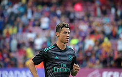May 6, 2018 - Barcelona, Catalonia, Spain - Cristiano Ronaldo during the match between FC Barcelona and Real Madrid CF, played at the Camp Nou Stadium on 06th May 2018 in Barcelona, Spain.  Photo: Joan Valls/Urbanandsport /NurPhoto. (Credit Image: © Joan Valls/NurPhoto via ZUMA Press)