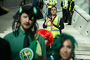 Bp-or-not-BP stage a splash mob art intervention at the British Museum in protest against the continued BP sponsorship of the exhibition Sunken Cities 25th of September 2016. Security staff at the museum let the play run but kept a close eye on any healt and safety issues. A flock of merfolk and BP pirates roamed the museum as well as a kraken, a giant sea monster. The merfolk all advocate more oil explorationa dn more climate change to raise the sea levels and make their life better.