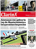 October 16, 2021 - LATIN AMERICA: Front-page: Today's Newspapers In Latin America
