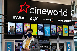 Edinburgh, Scotland, UK. 5 October, 2020. View of entrance to Cineworld cinema at Fountain Park in Edinburgh. More than 5,500 jobs are at risk at Cineworld, Britain's biggest cinema group, after it confirmed that it was closing all 127 of its UK venues. Iain Masterton/Alamy Live News