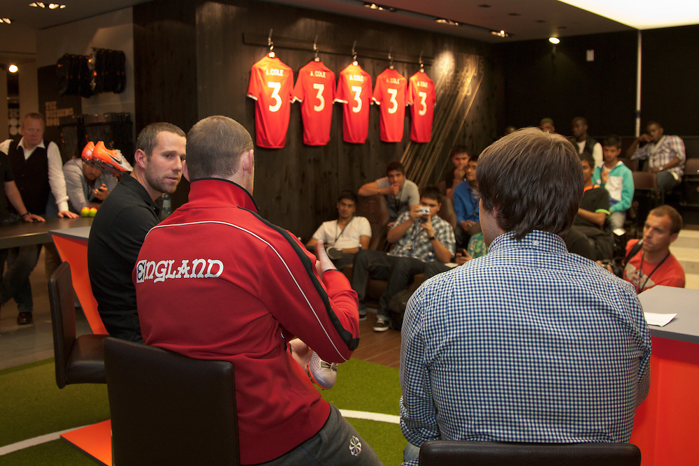 No More Talk, England Football Players, Nike Town, London