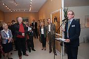 A.N. WILSON, 20/21 British Art Fair. Celebrating its 25 Anniversary. The Royal College of Art . Kensington Gore. London. 12 September 2012.