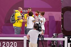 Team Belgium, Van Lent Jeroen, Laeremans Wendy, De Schaetzen Melanie, Raaeland Gert Jan<br /> Olympic Games Tokyo 2021<br /> © Hippo Foto - Stefan Lafrentz<br /> 25/07/2021