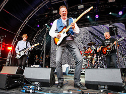 Pictured: Scots rock legends Big Country play the main stage at Party at the Palace in Linlithgow. Andrew West/ EEm