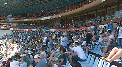Pretoria 26-12-18. The 1st of three 5 day cricket Tests, South Africa vs Pakistan at SuperSport Park, Centurion. Day 1. Supporters in the shade of the grandstands as temperatures soared to around 35deg Celcius during the morning session. Picture: Karen Sandison/African News Agency(ANA)