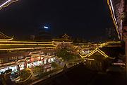 night photography of Chengdu, Kuan Zhai Xiang Zi historic city. Sichuan, China