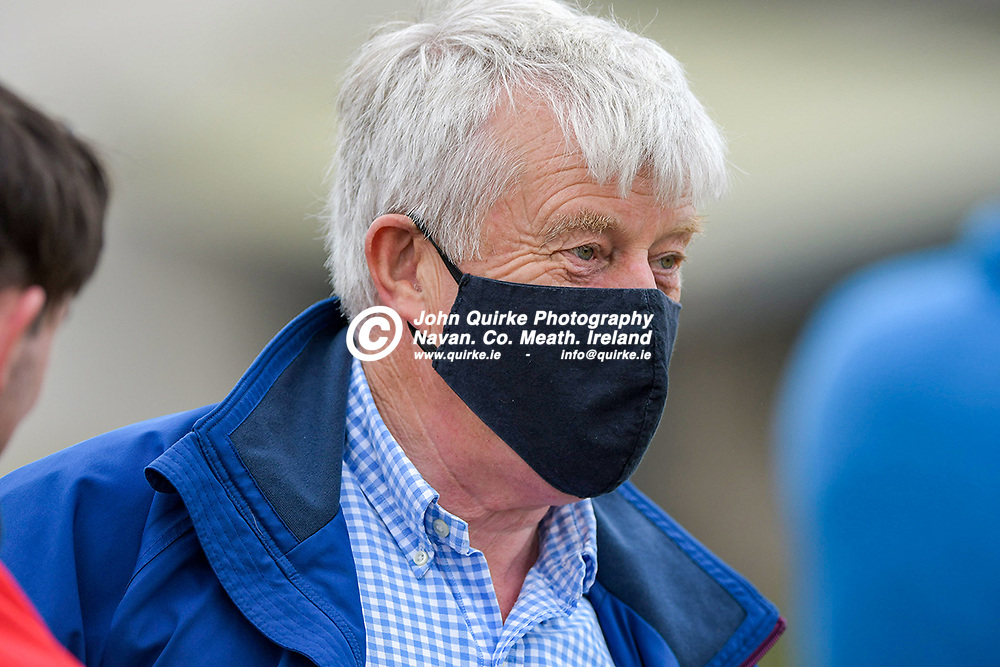 Trainer, Tom McCourt,  at Bellewstown Races.<br /> <br /> Photo: GERRY SHANAHAN-WWW.QUIRKE.IE<br /> <br /> 03-07-2021