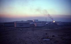 Stock photo of an industrial facility in Saudi Arabia