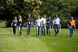Team Netherlands : Elaine Pen, Raf Kooremans, Merel Blom, Jan Van Beek, Tim and Martin Lips, Andrew Hefferman<br /> CIC2* Greenwich Park Eventing Invitational<br /> Olympic Test Event - London 2011<br /> © Dirk Caremans