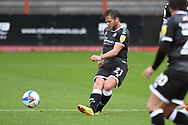 Dannie Bulman (21) of Crawley Town during the EFL Sky Bet League 2 match between Cheltenham Town and Crawley Town at Jonny Rocks Stadium, Cheltenham, England on 10 October 2020.
