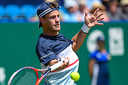 Diego Schwartzman of Argentina during the Nature Valley International at Devonshire Park, Eastbourne, United Kingdom on 27 June 2018. Picture by Martin Cole.