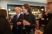 GRAYDON CARTER; ELIZABETH MCGOVERN, Vanity Fair Lunch hosted by Graydon Carter. 34 Grosvenor Sq. London. 14 May 2013