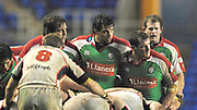 Reading, GREAT BRITAIN, London Irish, Front Row, during the third round Heineken Cup game, London Irish vs Ulster Rugby, at the Madejski Stadium, Reading ENGLAND, Sat., <br /> 09.12.2006. [Photo Peter Spurrier/Intersport Images]