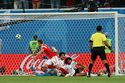 June 19, 2018 - SãO Petersburgo, Rússia - SÃO PETERSBURGO, MO - 19.06.2018: RUSSIA VS EGYPT - Cheryshev marks the second goal of Russia during the match between Russia and Egypt valid for the 2018 World Cup held at the Zenit Arena in St. Petersburg, Russia. (Credit Image: © Ricardo Moreira/Fotoarena via ZUMA Press)