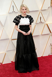 Lucy Boynton at the 92nd Academy Awards held at the Dolby Theatre in Hollywood, USA on February 9, 2020.