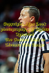 NORMAL, IL - February 07:  Referee Mark Berger during a college women's basketball game between the ISU Redbirds and the Braves of Bradley University February 07 2020 at Redbird Arena in Normal, IL. (Photo by Alan Look)