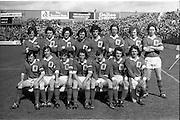 23/09/1974<br /> 09/23/1974<br /> 23 September 1974 <br /> All Ireland Minor Football Final - Cork v Mayo at Croke Park, Dublin.  The Mayo Team.