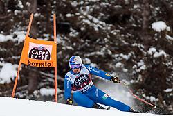 28.12.2017, Stelvio, Bormio, ITA, FIS Weltcup, Ski Alpin, Abfahrt, Herren, im Bild Dominik Paris (ITA) // Dominik Paris of Italy in action during mens Downhill of the FIS Ski Alpine Worldcup at the Stelvio course, Bormio, Italy on 2017/12/28. EXPA Pictures © 2012, PhotoCredit: EXPA/ Johann Groder
