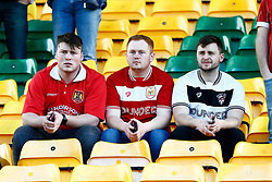 Bristol City supporters at Carrow Road - Mandatory by-line: Phil Chaplin/JMP - FOOTBALL - Carrow Road - Norwich, England - Norwich City v Bristol City - Sky Bet Championship