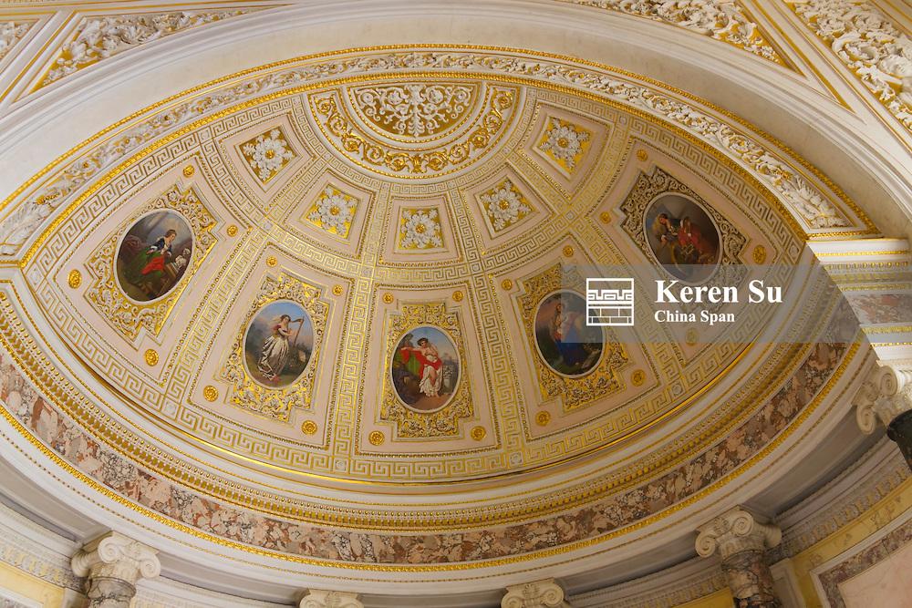Inside Winter Palace, St. Petersburg, Russia