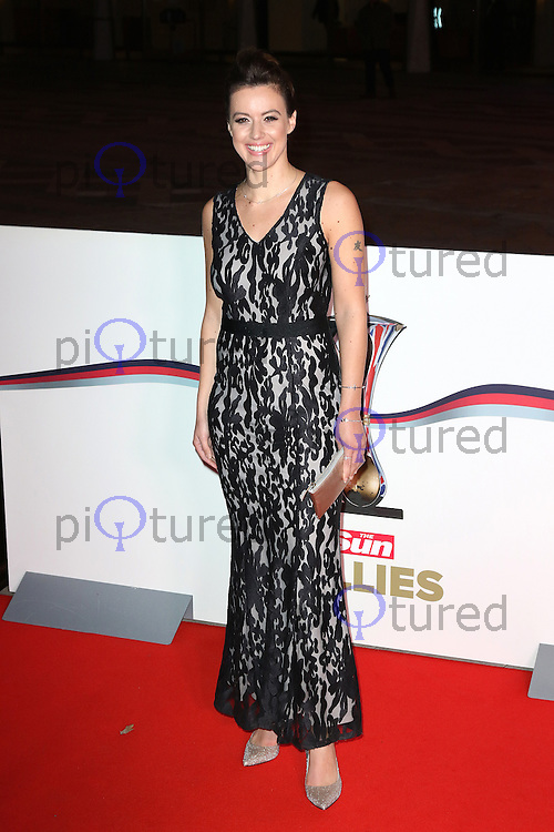 Charlie Webster, The Sun Military Awards Millies, Guildhall, London UK, 14 December 2016, Photo by Richard Goldschmidt
