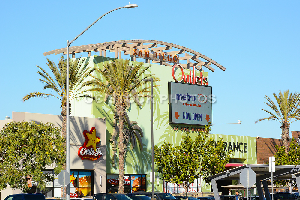 Las Americas Premium Outlets at the Border of San Ysidro San Diego